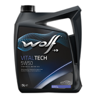Синтетическое моторное масло WOLF VITALTECH 5W50