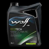 Синтетическое моторное масло WOLF ECOTECH 5W30 ULTRA FE