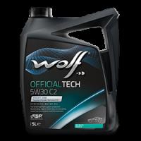 Синтетическое моторное масло WOLF OFFICIALTECH 5W30 С2
